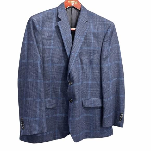 LAUREN Ralph Lauren Size 42 SHORT Wool blazer